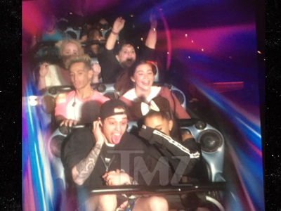 Ariana Grande & Pete Davidson Go to Disneyland Post-Engagement