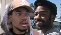 Chance the Rapper and Donald Glover Surprise Chicago Kids
