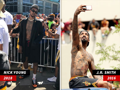 Nick Young Takes on J.R. Smith in NBA Parade Edition of 'Who Wore it Better'