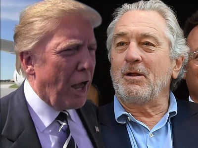 President Trump Fires Back at Robert De Niro's 'Low IQ'