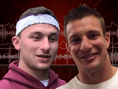 Johnny Manziel Crushed Beers with Gronk Before Patriots Pre-Draft Visit