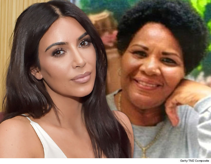 Kim Kardarshain West Meets With Alice Marie Johnson In Memphis.