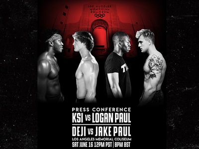 Logan Paul and KSI Set First Press Conference for Superfight