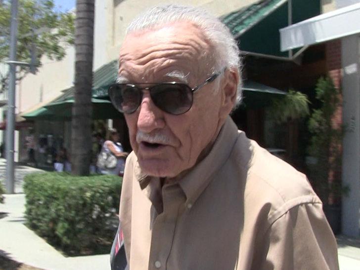 Stan Lee Files for Restraining Order Against Keya Morgan