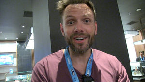 Joel McHale Says His Kids Can Skip College If They Play Fortnite Like Ninja