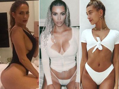 J Lo, Kim Kardashian and Hailey Baldwin Join Melania Trump On Maxim Hot 100 List