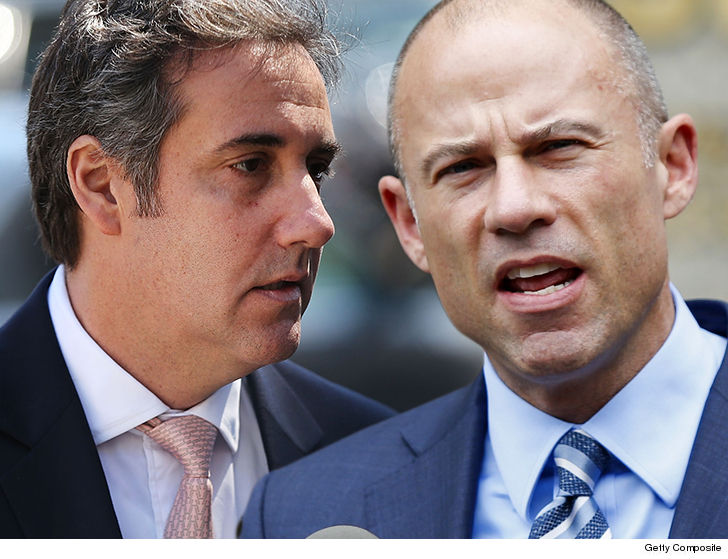 Pres. Trump's personal lawyer wants Stormy Daniels' lawyer gagged
