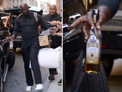 Michael Jordan Living That Tequila Life In NYC