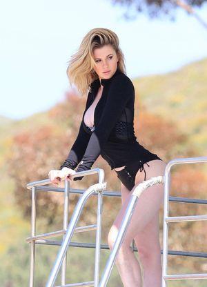 Ireland Baldwin Modeling -- Erin Go Bragh