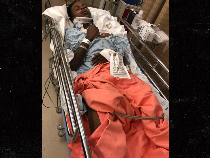 Rich The Kid Hospitalized After Being Attacked In Home Invasion