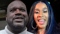 Cardi B Inspires Shaquille O'Neal's MUCH Needed Pedicure
