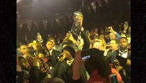 Meek Mill Rocks Eagles Super Bowl Ring Party