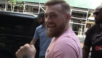 Conor McGregor Giddy In NYC, Thanks Fans For Their Support!