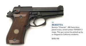 Jerry Lewis Gun Auction