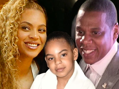 Blue Ivy Dancing at Beyonce and Jay-Z's London Concert