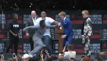 Logan Paul and KSI Nearly Come to Blows at Super Fight News Conference
