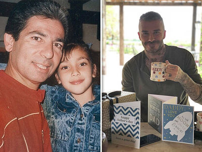 Kim Kardashian and Tons of Celebs Honor Dad on Father's Day
