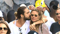 Heidi Klum and BF Tom Kaulitz Hit Disneyland for PDA ... and Rides, Too