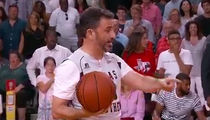 Jimmy Kimmel Trash Talks Ted Cruz in Charity Basketball Game