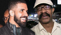 Drake Surprises Father with Sweet Baby Blue Bentley for Father's Day