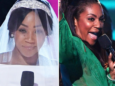 Haddish Rocks Meghan Markle's Wedding Dress, THAT J.Lo Look at MTV Awards