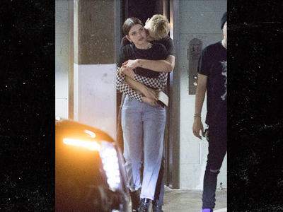 Anwar Hadid Makes Out With Kendall Jenner Look-Alike In L.A.