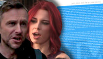 Chris Hardwick and Chloe Dykstra Texts Show She Wanted to Reconcile After Breakup
