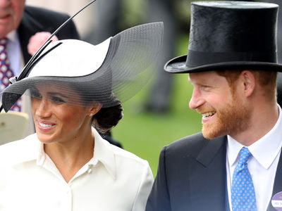 Meghan Markle and Prince Harry's Hat Game is Strong at Royal Ascot