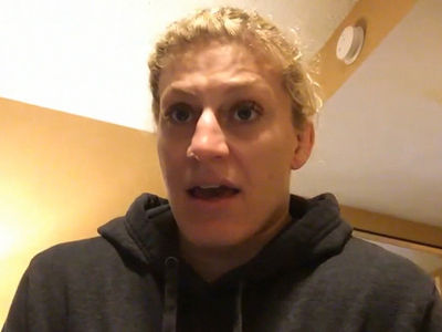 Olympian Kayla Harrison Says MMA Fighters Are Afraid of Me