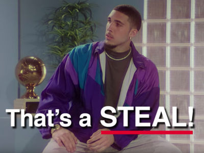 LiAngelo Ball Mocks China Theft Incident In Foot Locker Ad