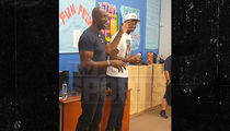 Terrell Owens Raves About Hall of Fame Nod at Kids' Event