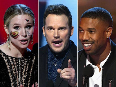 Michael B. Jordan BURNS Roseanne at MTV Movie & TV Awards -- Every Must-See Moment!