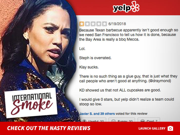 7a1cad3eff9f Ayesha Curry s Houston Restaurant Attacked On Yelp By Rockets Fans ...