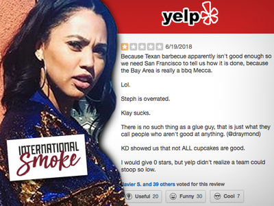 Ayesha Curry's Houston Restaurant Attacked On Yelp By Rockets Fans