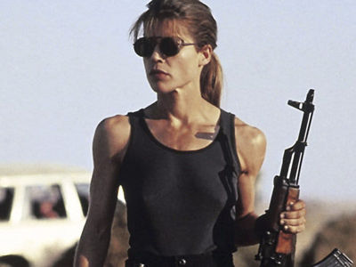 Linda Hamilton Spotted on 'Terminator' Set and You Won't Believe What She Looks Like NOW!