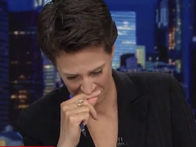 Maddow BREAKS DOWN Over Fate of Immigrant Children -- Here's What She Wanted to Say!