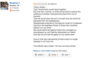 Ayesha Curry's Restaurant Yelp Review