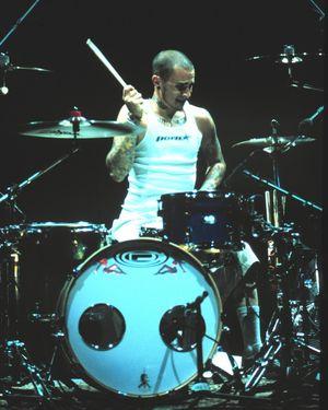 Travis Barker Performance Photos