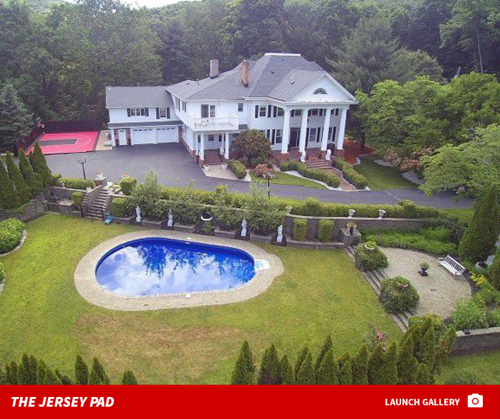 Freshly Sworn In U.S. Citizen French Montana Is Getting Rid Of His New  Jersey Mansion, And Itu0027s Proof That You Can Get A Lot More House In The  Suburbs Of ...