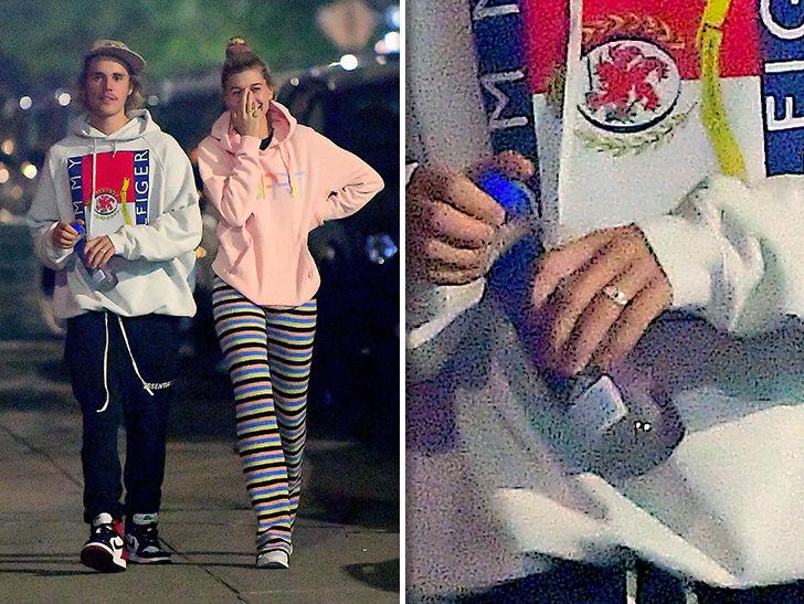 Justin Bieber S Not Married Despite Band On Ring Finger