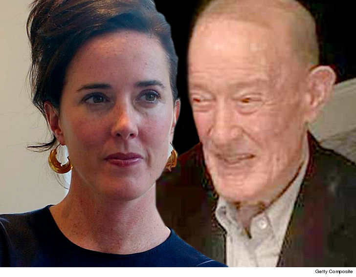 Kate Spade's Father Dies Hours Before Her Funeral