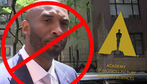 Kobe Bryant Denied By Oscar Academy, You Don't Have a Body Of Work!