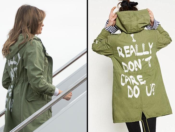 Melania Trump Wears Tone-Deaf 'I Really Don't Care' Jacket During Border Trip