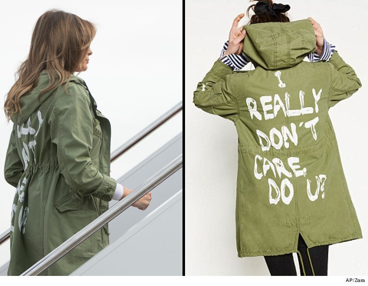 Image result for melania jacket