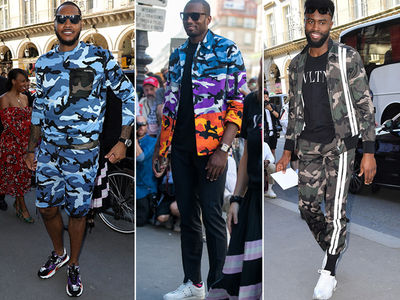 Carmelo Anthony Goes Full 'Ali G' At Paris Fashion Week