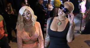 Blac Chyna and Amber Rose Hit The Town After Breakups
