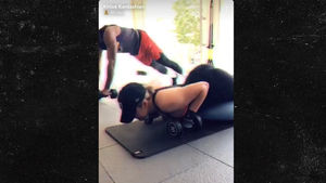 Khloe Kardashian & Tristan Thompson Get Sweaty Together