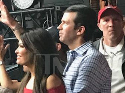 Donald Trump Jr. At Poison Concert with Kimberly Guilfoyle