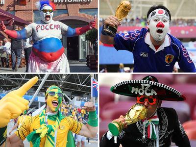 Wacky World Cup Fans ... GOOOOOOALS!