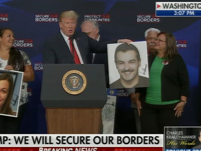 President Trump Compares Murder Victim to Tom Selleck, 'Except Better Looking'